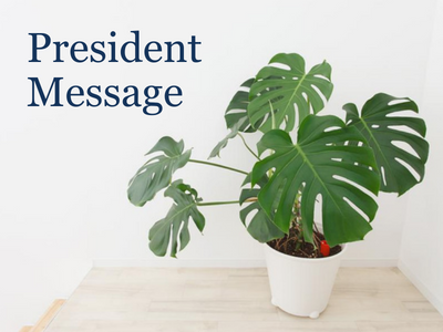 President Message October