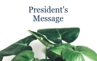 IPA - Presidents Message December 2018