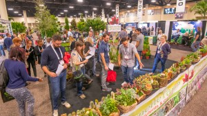 1. The crowd at the 2019 Tropical Plant International Expo