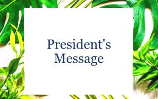 IPA - President's Message ( Aug 2019 )