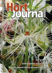 My article on artificial plants featured in the May 2018 issue of Hort Journal Australia (Image: Hort Journal Australia)