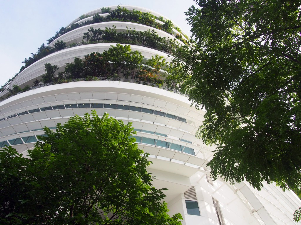 Solaris building in Central-West Singapore