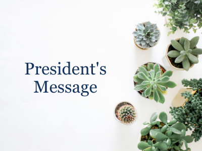 IPA - President's Message